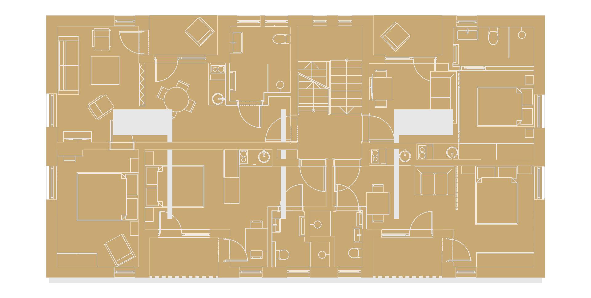 Budynek A – pietro 1 – white