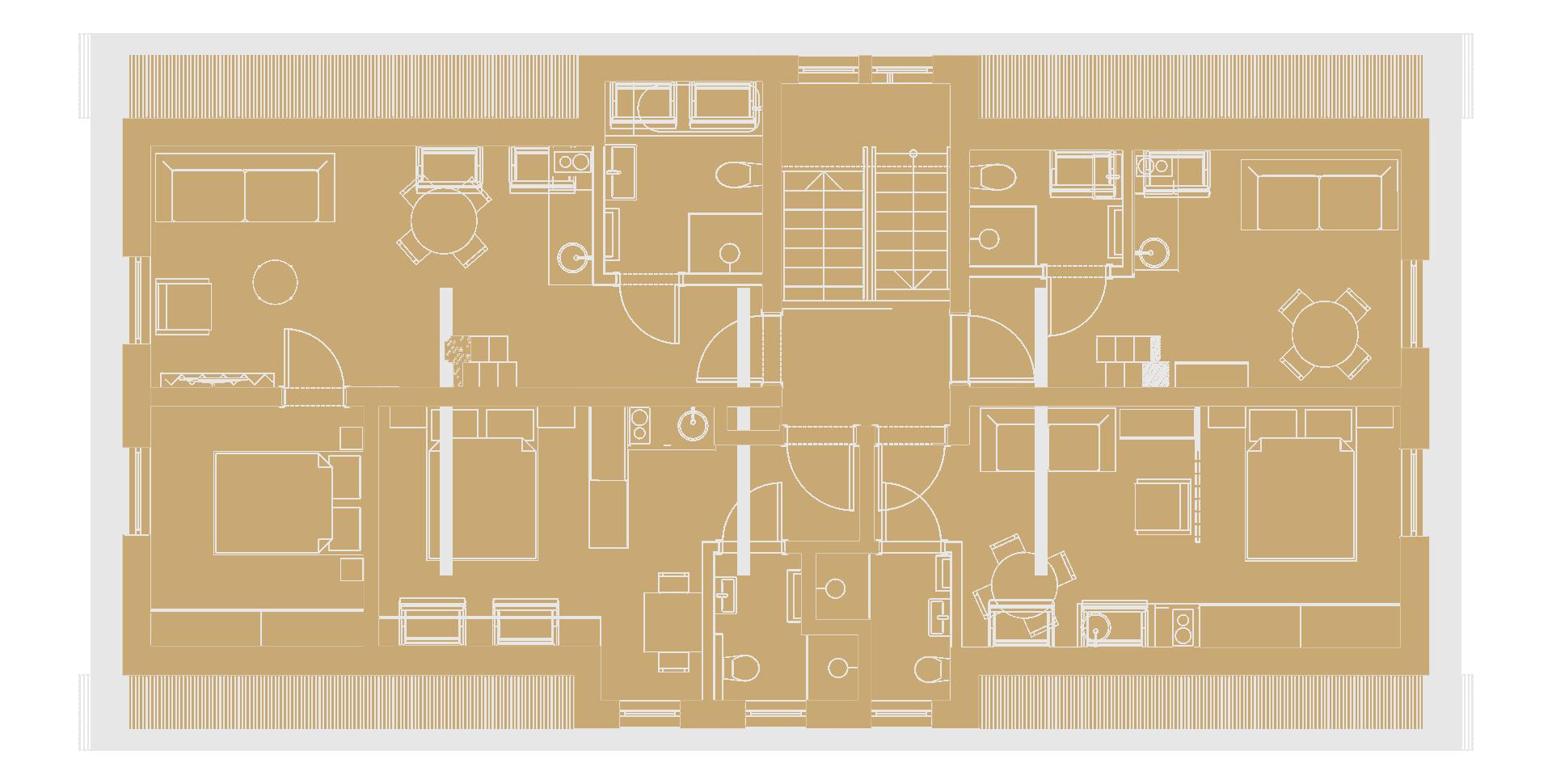 Budynek B – pietro 2